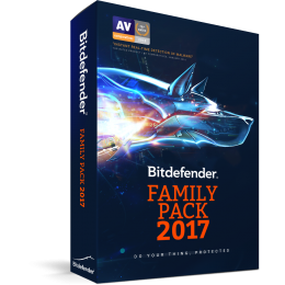 Bitdefender Family Pack 1jaar Unlimited-Devices